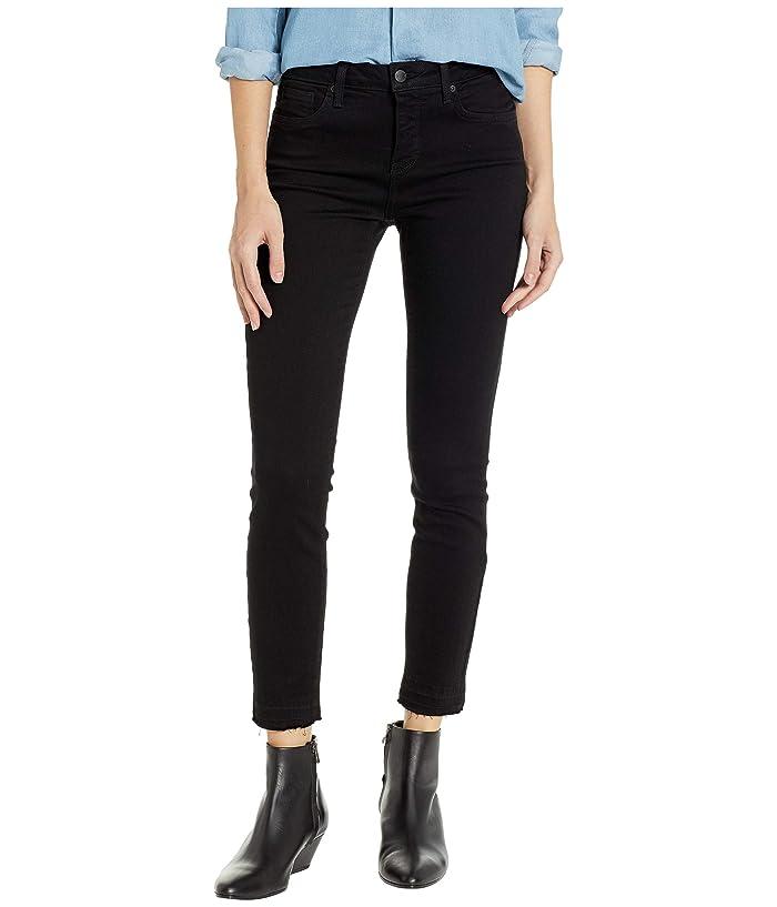 NYDJ Ami Skinny Ankle w/ Release Hem in Black (Black) Women's Jeans