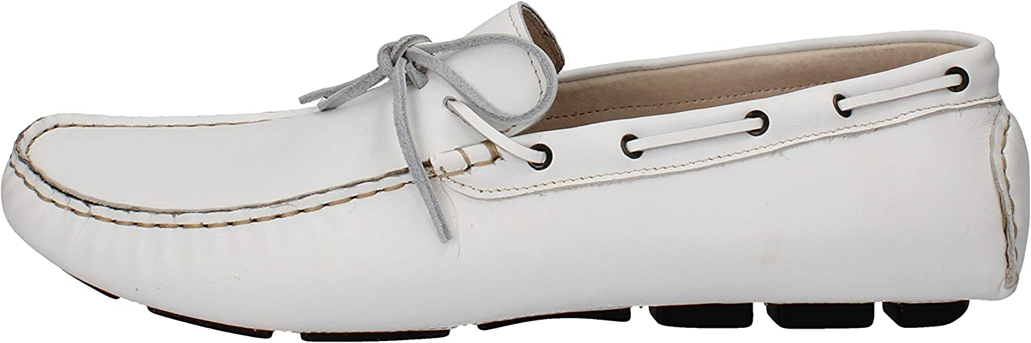 Rossini Loafers-shoes Mens Leather White