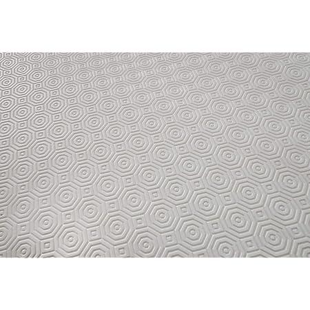 Soleil d'ocre sous Nappe, PVC, Blanc, 140 x 300 cm
