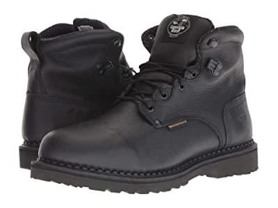 Georgia Boot Giant 6 Soft Waterproof Boot (Black) Men