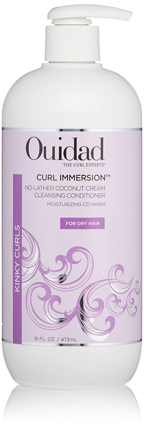 OUIDAD Curl Immersion No-Lather Coconut Cleansing Award-winning store Sales of SALE items from new works Conditio Cream
