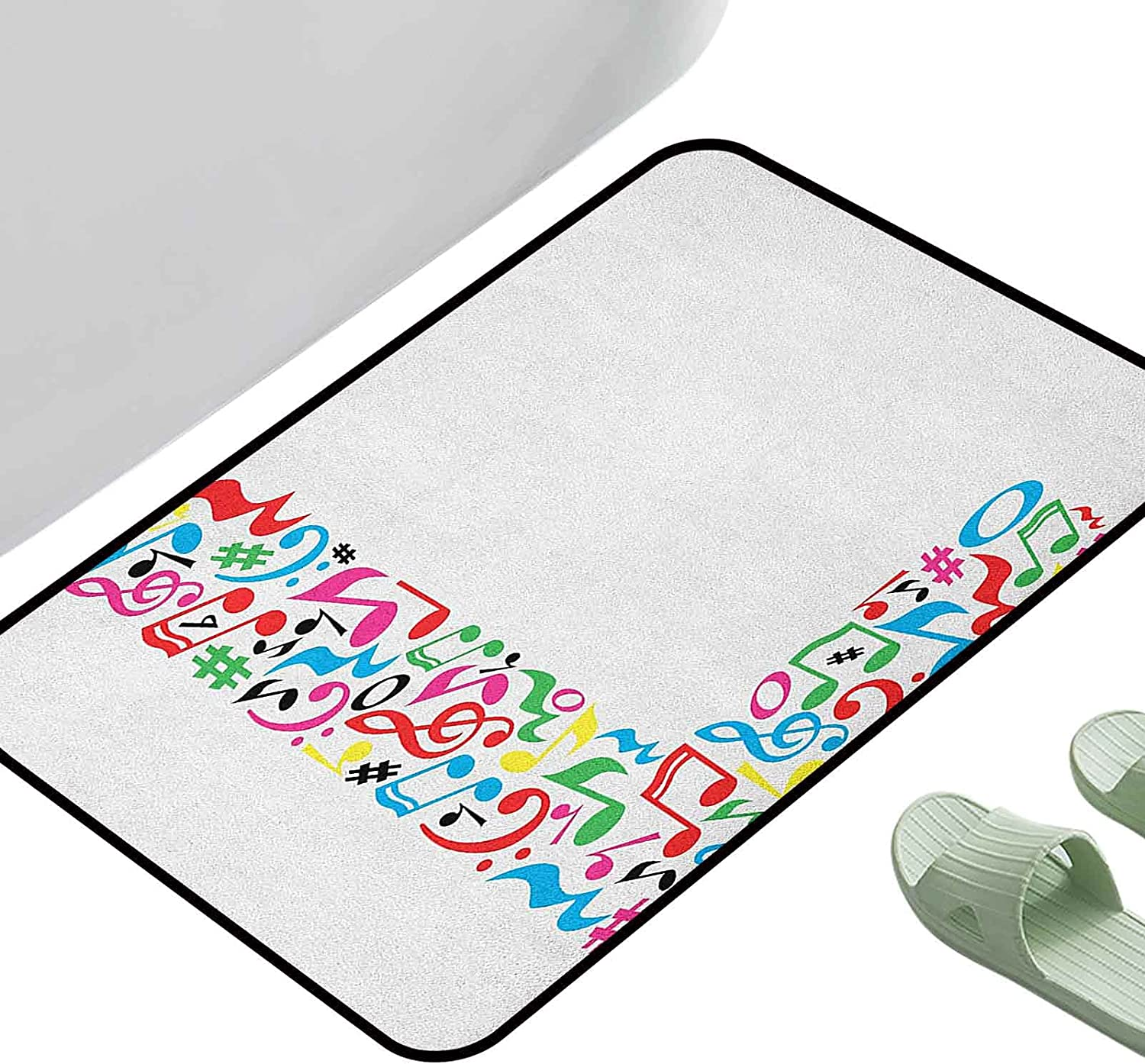 Reusable Superior Washable Carpet Letter L with Capital Musical a Sign Albuquerque Mall