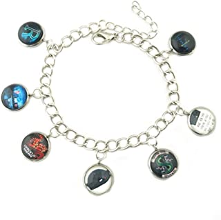 Athena Brand Riverdale South Side Serpents Charm Bracelet Quality Cosplay Jewelry Cartoon Gaming Comic TV Series with Gift Box