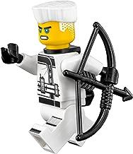 The LEGO Ninjago Movie Minifigure: Zane (with Hair & Quiver) 70617