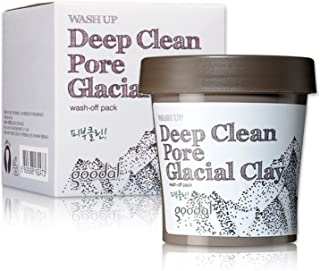 Goodal Wash Up Deep Clean Pore Glacial Clay Wash Off Pack, 3.4 Fluid Ounce