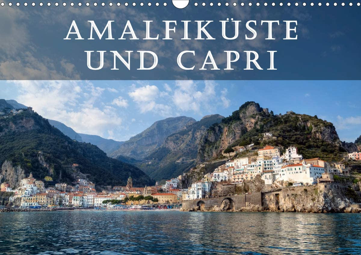 Amalfiküste Max 61% OFF und Capri Wandkalender Deluxe DIN 2021 quer A3