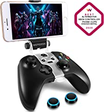 WEPIGEEK Wireless Controller Phone Clip Mount Holder Clamp Compatible with Xbox One S/Elite/Elite Series 2 Bluetooth Gamepad