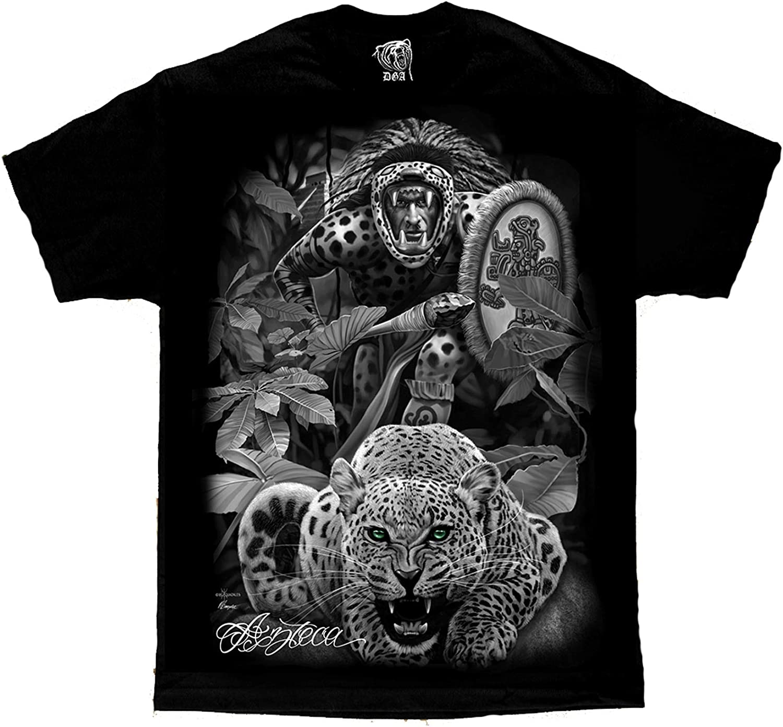 Azteca Tribal Jungle Cheetah Warrior by David Rare Chicano Special sale item Art Gonzal