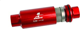 Aeromotive 12304 Red Fuel Filter (In-Line Filter/100-Micron)