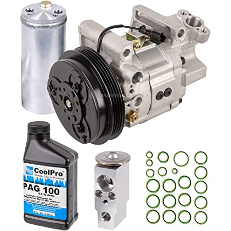 Replacement Parts BuyAutoParts 60-84608RN NEW OEM AC Compressor w ...