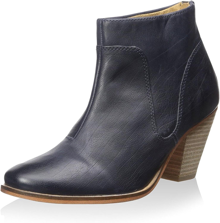 J. shoes Women's Belgrave Dress Stacked Block Heel Bootie