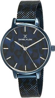 Daniel Klein Analog Blue Dial Women's Watch-DK12074-6