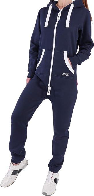 Finchgirl fg181 Femmes Jumpsuit Combinaison Combishort Jogging Costume Survêtement