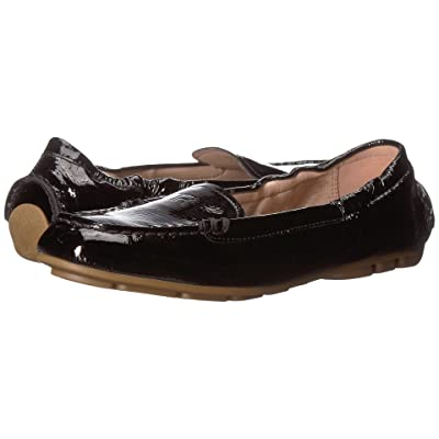 Taryn Rose Kristine (Black Crinkled Patent) Women