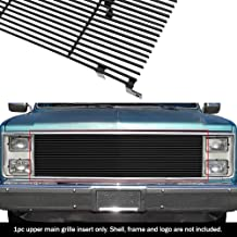 APS Compatible with Chevy Blazer C K Pickup Suburban GMC Jimmy Black Billet Grille Insert C85002H