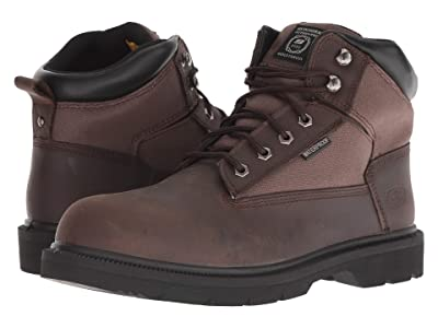 SKECHERS Work Makanix Bridgend (Brown) Men