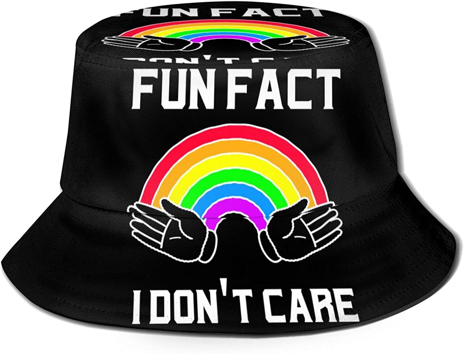 Fun F-ACT I Super sale Don't Care Bucket Now on sale Hat Unisex Sun Packable Summer