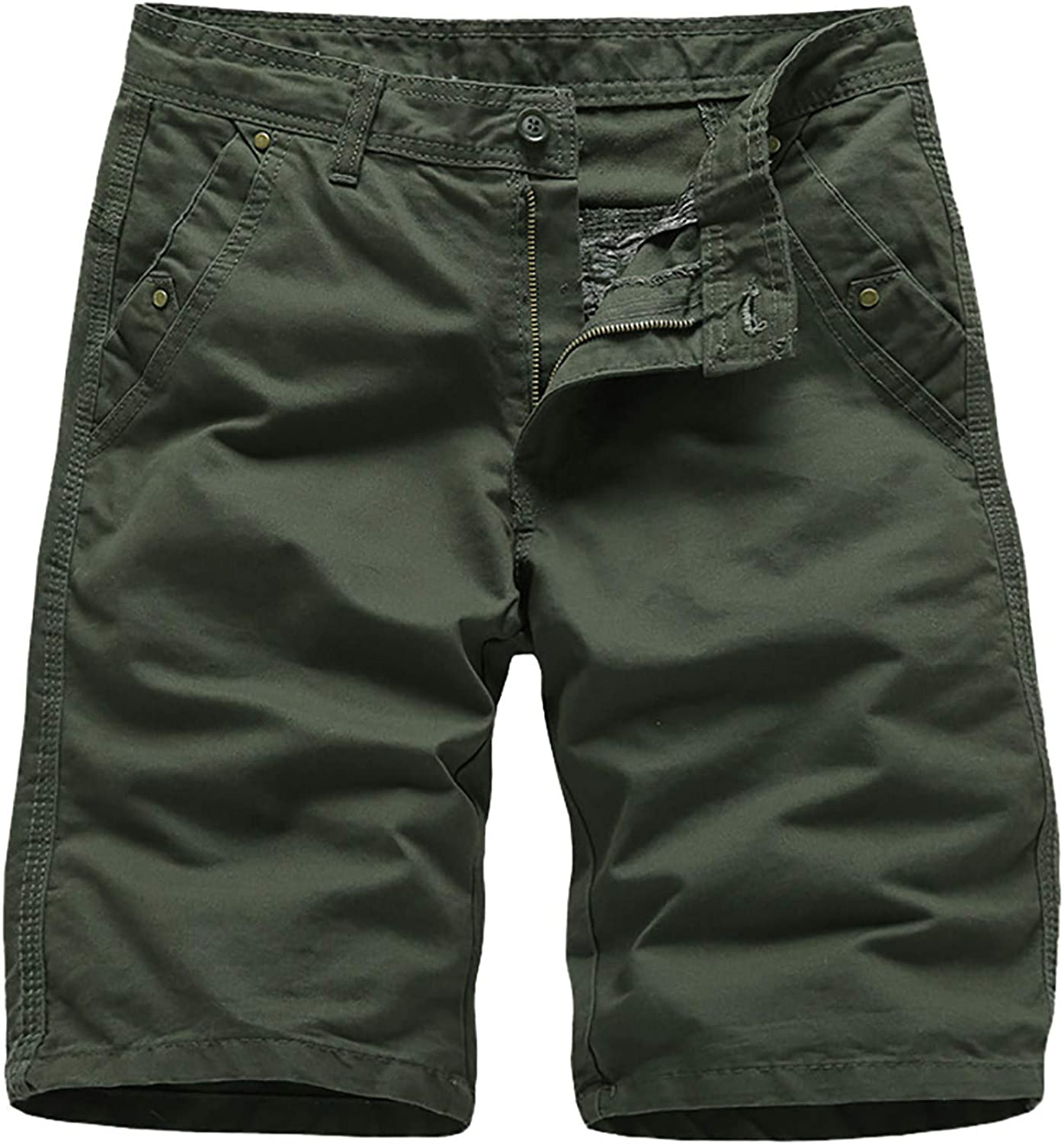 FUNEY Shorts for Men Casual Outdoor Summer Shorts Classic Relaxed Fit Cargo Short Comfy Workout Big and Tall Hiker Short