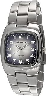 Viva Time Men's 2810M Timetech Denim Analog Display Japanese Quartz Silver Watch