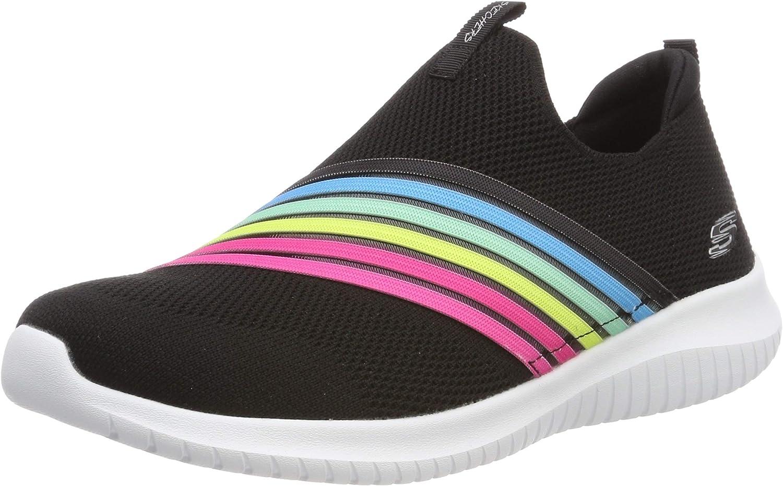 Skechers Womens Ultra Flex-brightful Day Sneaker