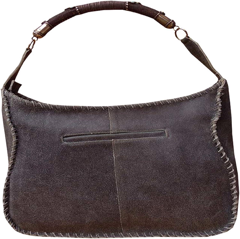 Spice Art bluee Distress Cow Genuine Leather Women's Hand Bag