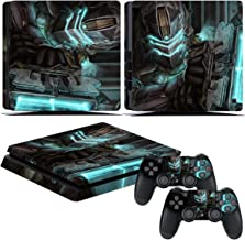 EBTY-Dreams Inc. - Sony Playstation 4 Slim (PS4 Slim) - Dead Space 3 Video Game Isaac Clarke Vinyl Skin Sticker Decal Protector