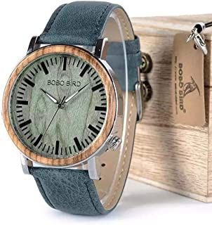 Bobo Bird Casual Watch For Unisex Analog Leather - WP01
