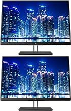 HP Z24i G2 24 Inch IPS LED Backlit Monitor 2-Pack, WUXGA 1920 x 1200 (1JS08A8#ABA)