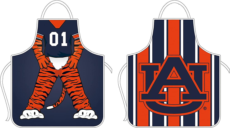 Team Free shipping on posting reviews Sports America Auburn Dedication Double University Apron Side