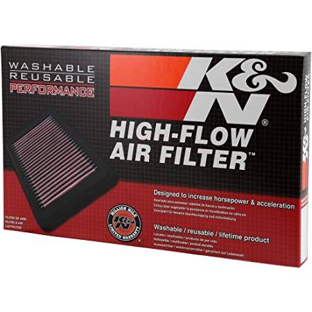 K N 33 2339 Motorluftfilter Hochleistung Prämie Abwaschbar Ersatzfilter Erhöhte Leistung 2006 2011 Hhr Auto