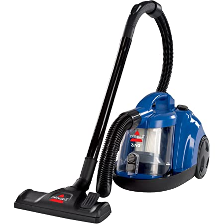 Bissell Zing Rewind Bagless Canister Vacuum, Caribbean Blue - Corded