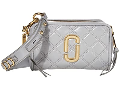 Marc Jacobs The Softshot 21 Crossbody (Rock Grey) Handbags