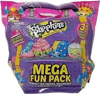 Shopkins Mega Fun Pack with 30 Individually Bags, Multicolor