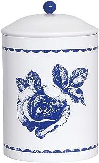 北欧 スウェーデン ストレームシャガ キャニスター缶 (ブルーローズ) 637313