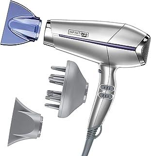 John Frieda Frizz Ease Full Volume Hair Dryer Full Size Silver/Purple