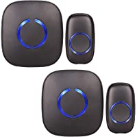 2-Pack SadoTech Model C Wireless Doorbell and Chime