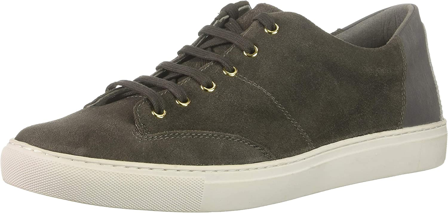TCG Mens Cooper Premium Leather and Suede Lace Up Low Top Sneaker shoes Sneaker