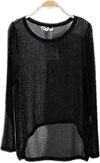 Best see through knit sweater Reviews
