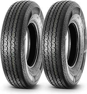 MaxAuto DOT Radial Trail HD Trailer Tire ST235/85R16 235/85R16 125L, 10PR Load Range E,Set of 2
