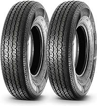 Set of 2 Premium Radial Trailer Tire ST235/85R16 125L 10PR Load Range E
