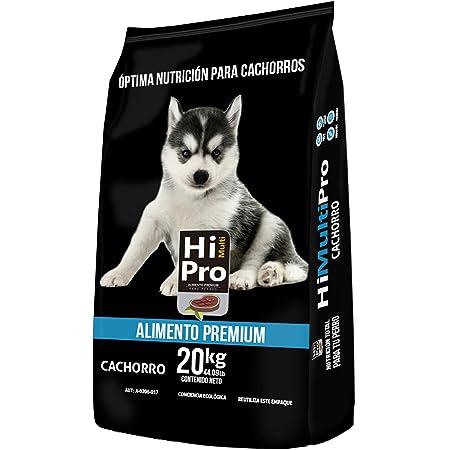 HI MULTI PRO Alimento Premium Cachorro 20 Kilos, 100% Balance Nutricional. con probióticos, Calcio y Proteínas de Alto Valor biológico