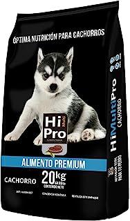 Hi Multi pro Alimento Premium Cachorro 20 Kilos, 100% Balance Nutricional. con probióticos, Calcio y Proteínas de Alto Val...