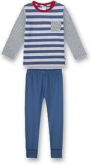 Sanetta Schlafanzug lang blau jongens Pyjamaset