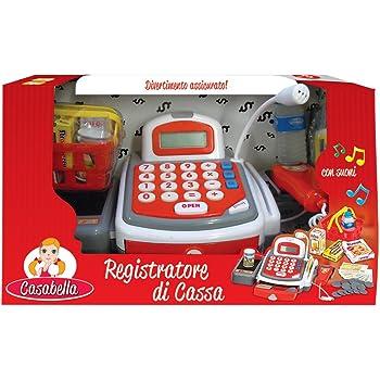 Y5x Simba 4525700 Cassa del supermercato con scanner