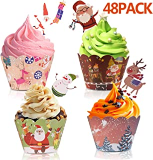 Best christmas cupcakes toppers Reviews