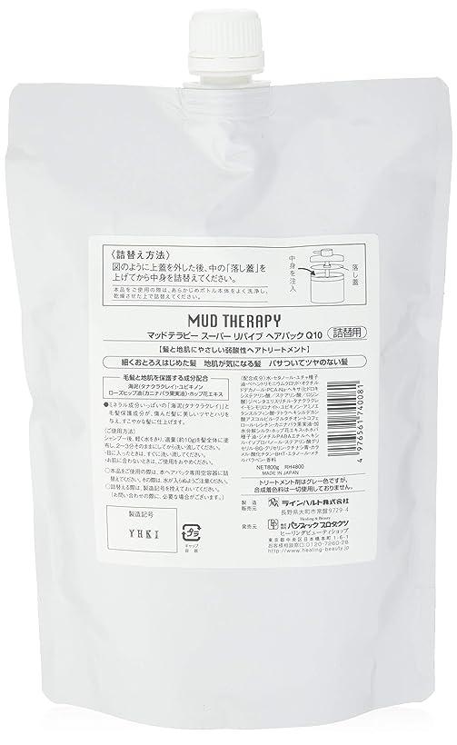 城教会焼くマッドテラピー ヘアパックQ10 800g(詰め替え)