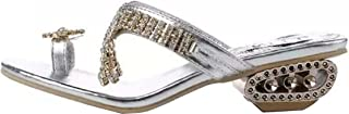 """Girllike Women's """"Toe Ring"""" Summer Beach Party Get Together School Carnival Casual Evening Slipper Sandals"""