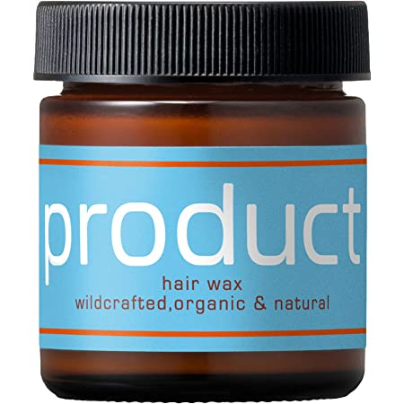 product(ザ・プロダクト) ヘアワックス 42g / シアバター ヘアバーム オーガニック スタイリング剤 ヘアオイル サロン品質 保湿 濡れ髪 柑橘系の香り