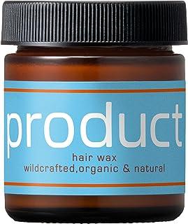 product(ザ・プロダクト) ヘアワックス 42g / ヘアバーム オーガニック ワックス スタイリング剤 ヘアオイル サロン品質 保湿 濡れ髪 柑橘系の香り