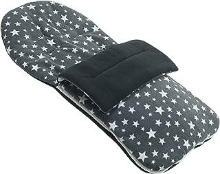 Forro polar saco compatible con Mountain Buggy Duo–gris Star